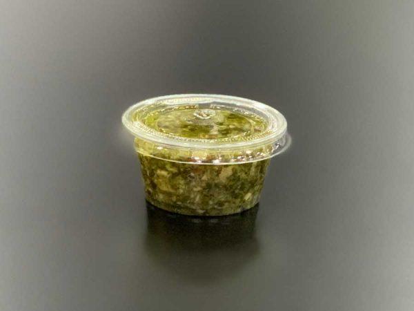Perejil molido con ajo y aceite girasol